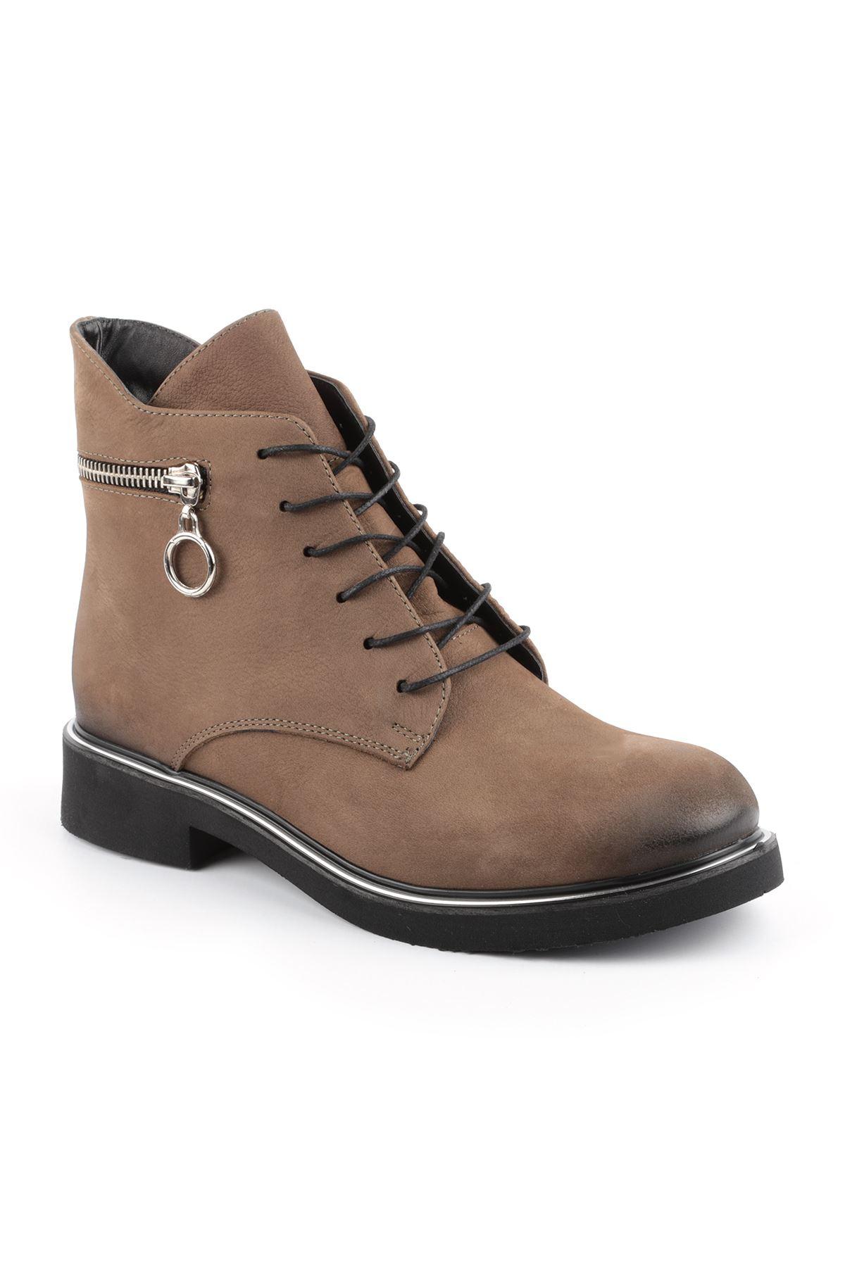 Libero FMS317 Khaki Women's Boots
