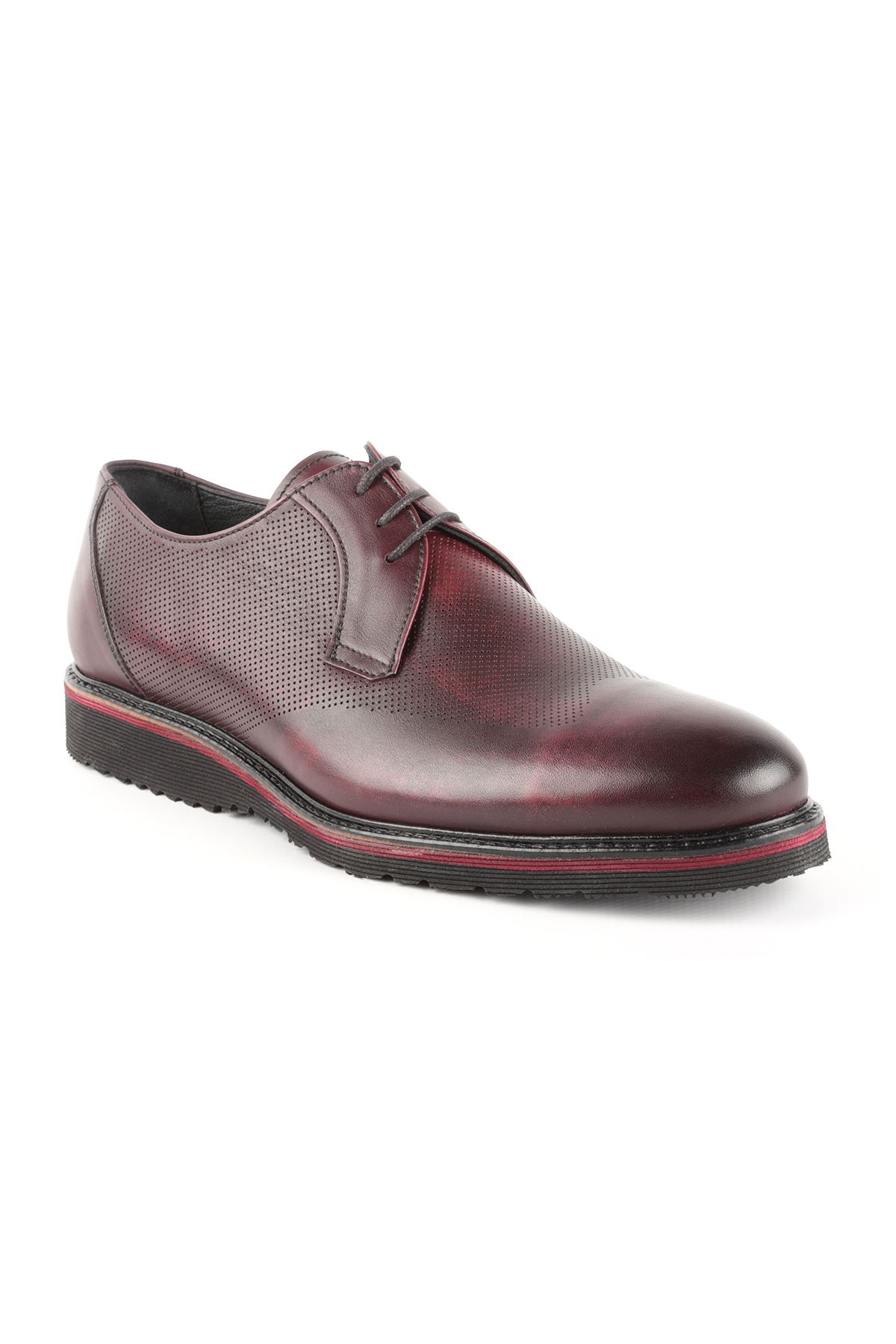 Libero T1409 Claret Red Casual Shoes