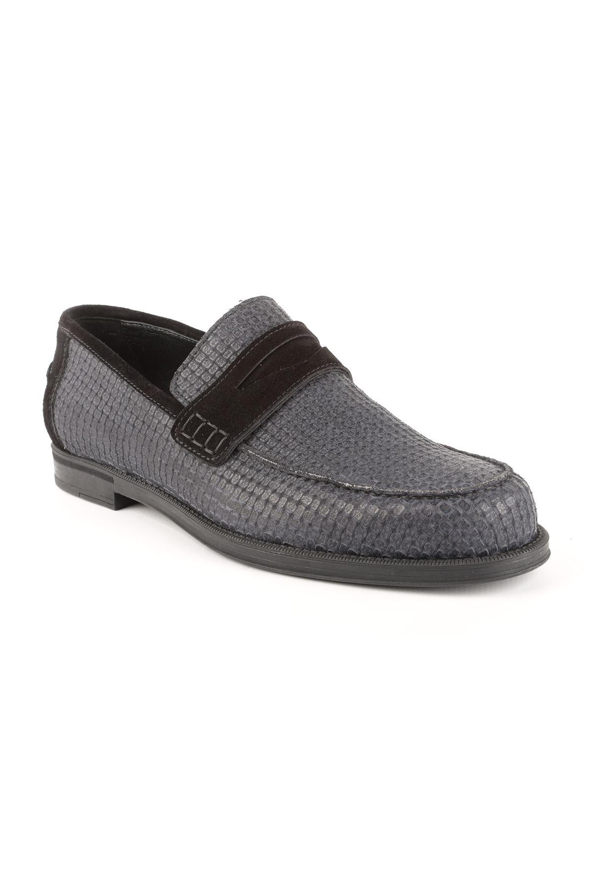 Libero T1412 Lacivert Loafer Ayakkabı