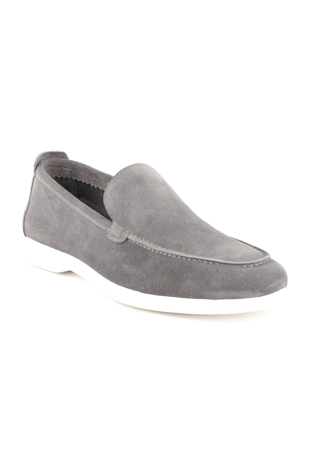 Libero T1421 Gray Loafer Shoes