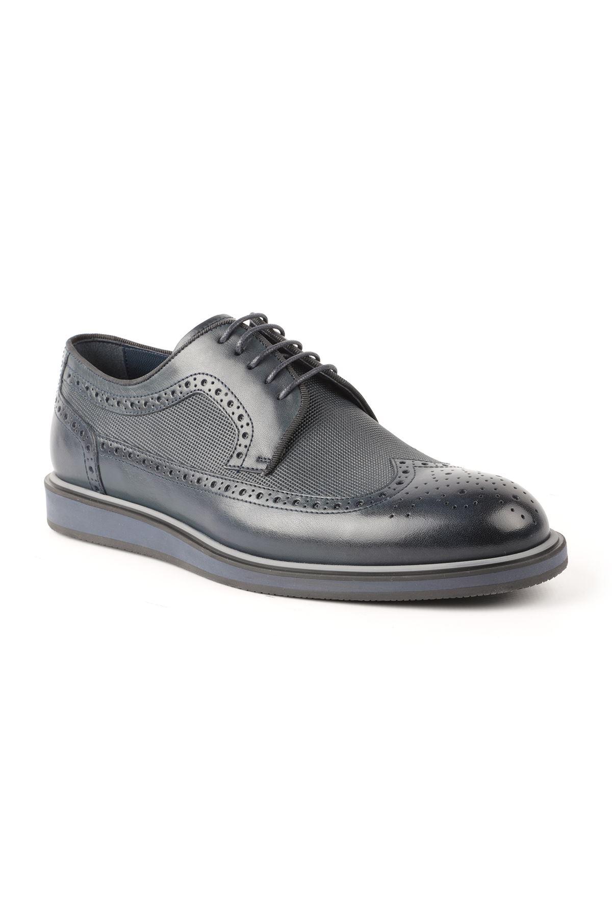 Libero L3722 Navy Blue Casual Men Shoes