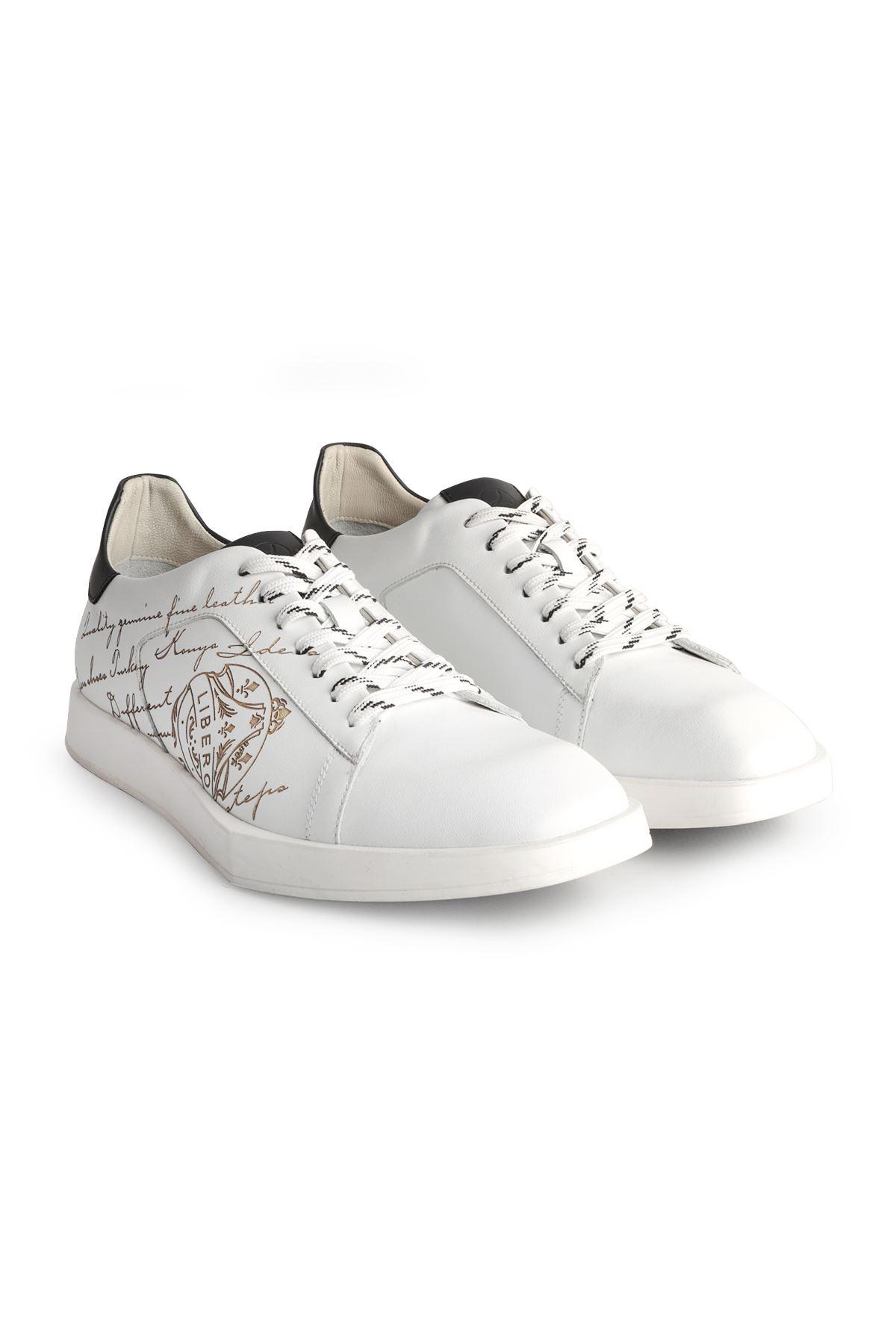 Libero L3801 Beyaz Erkek Ayakkabı