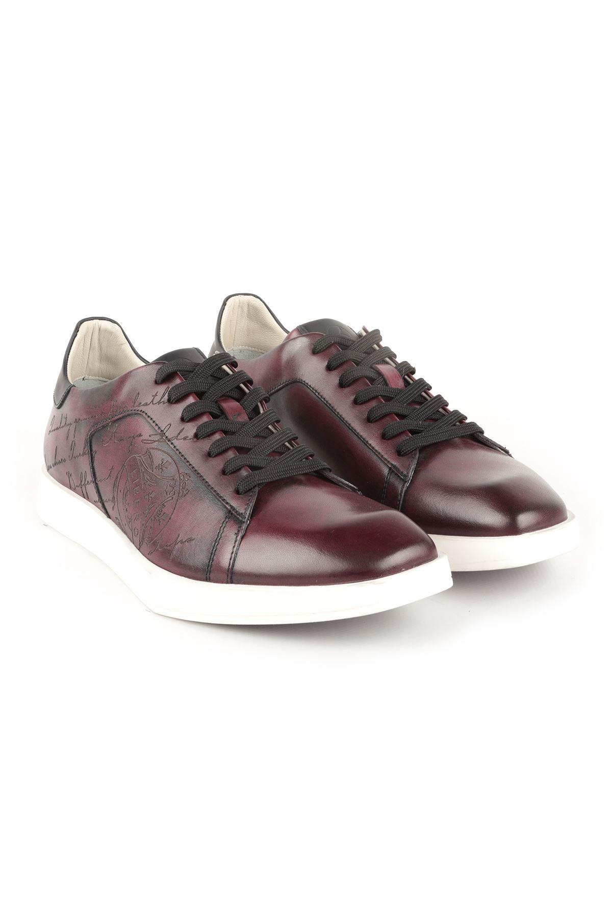 Libero L3801 Bordo Erkek Ayakkabı