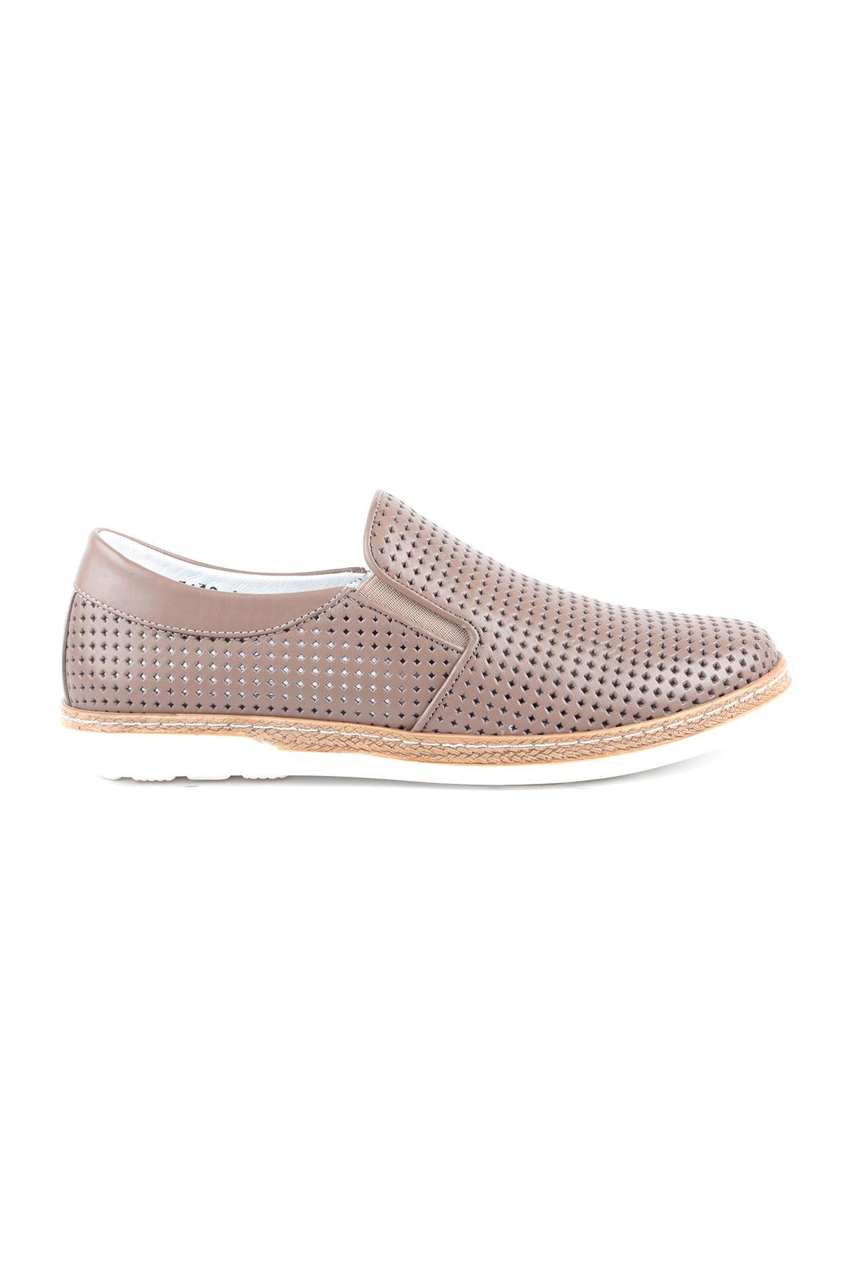 Libero L3619 Mink Loafer Men's Shoes