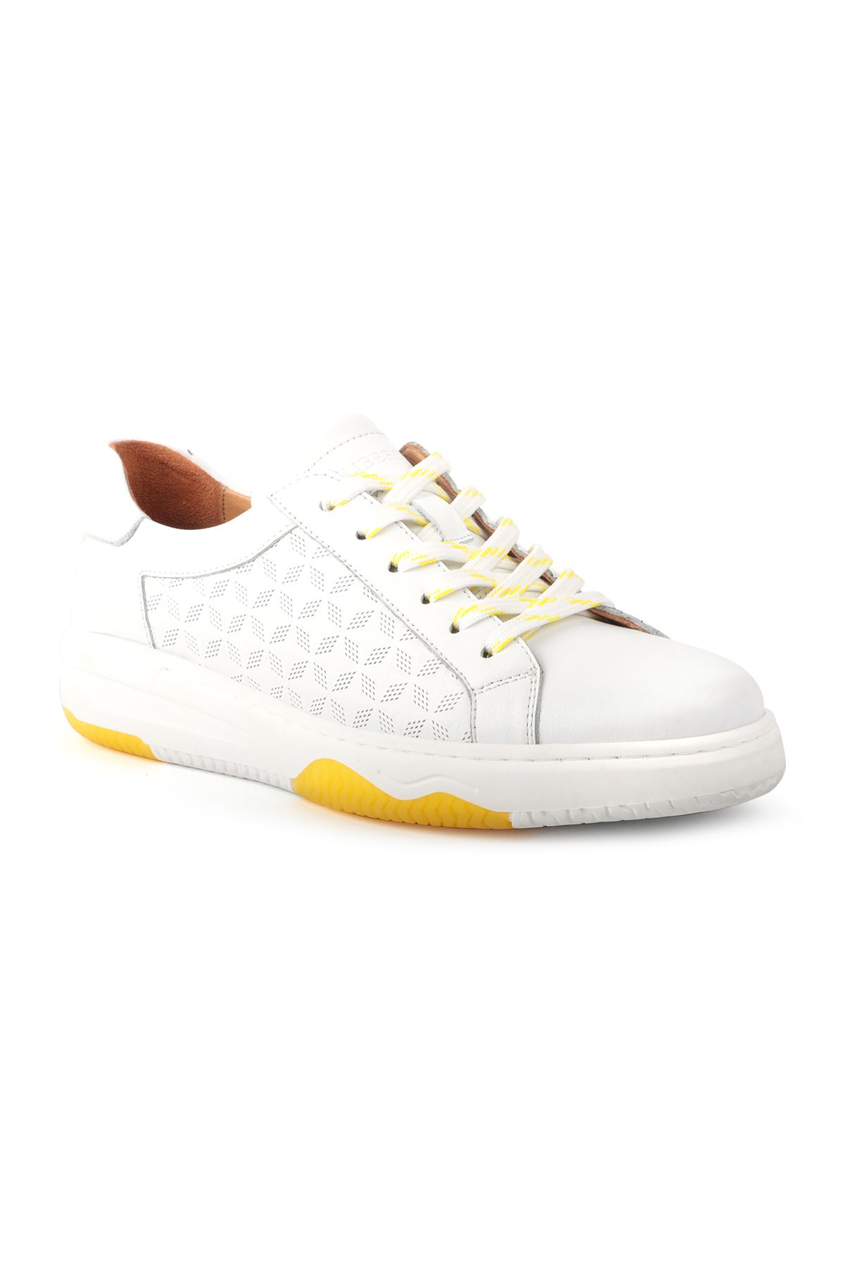 Libero L3751 White Casual Men Shoes