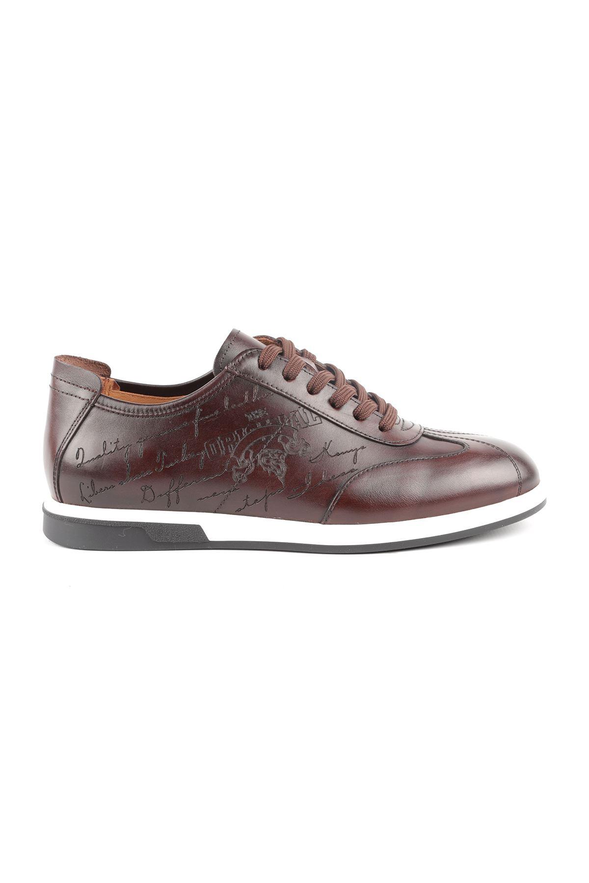 Libero L3772 Brown Men's Sport Shoes
