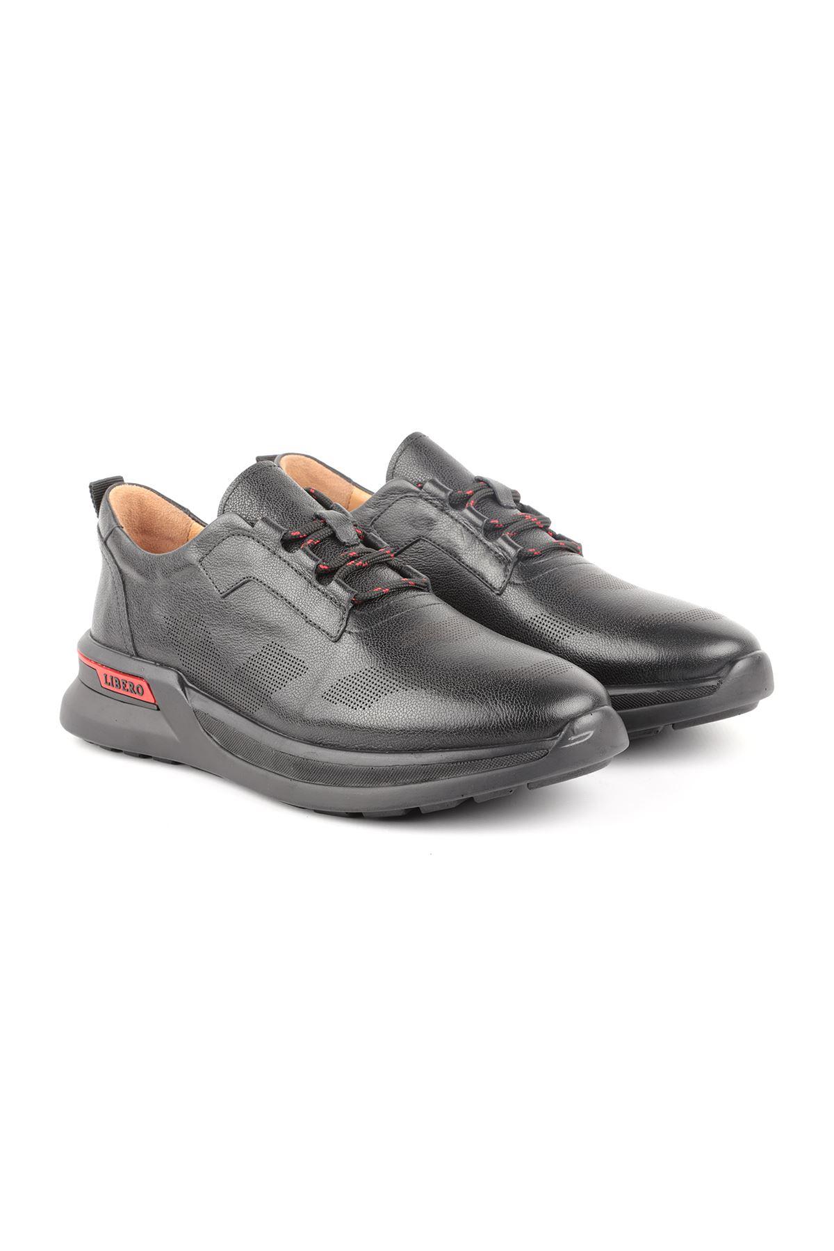 Libero L3757 Siyah Casual Erkek Ayakkabı
