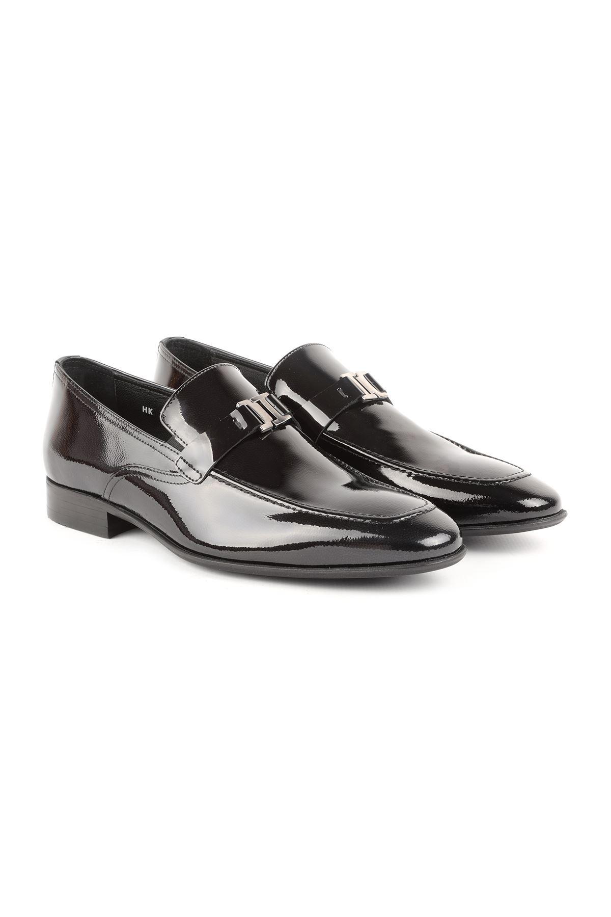 Libero L3700 Black Classic Men Shoes