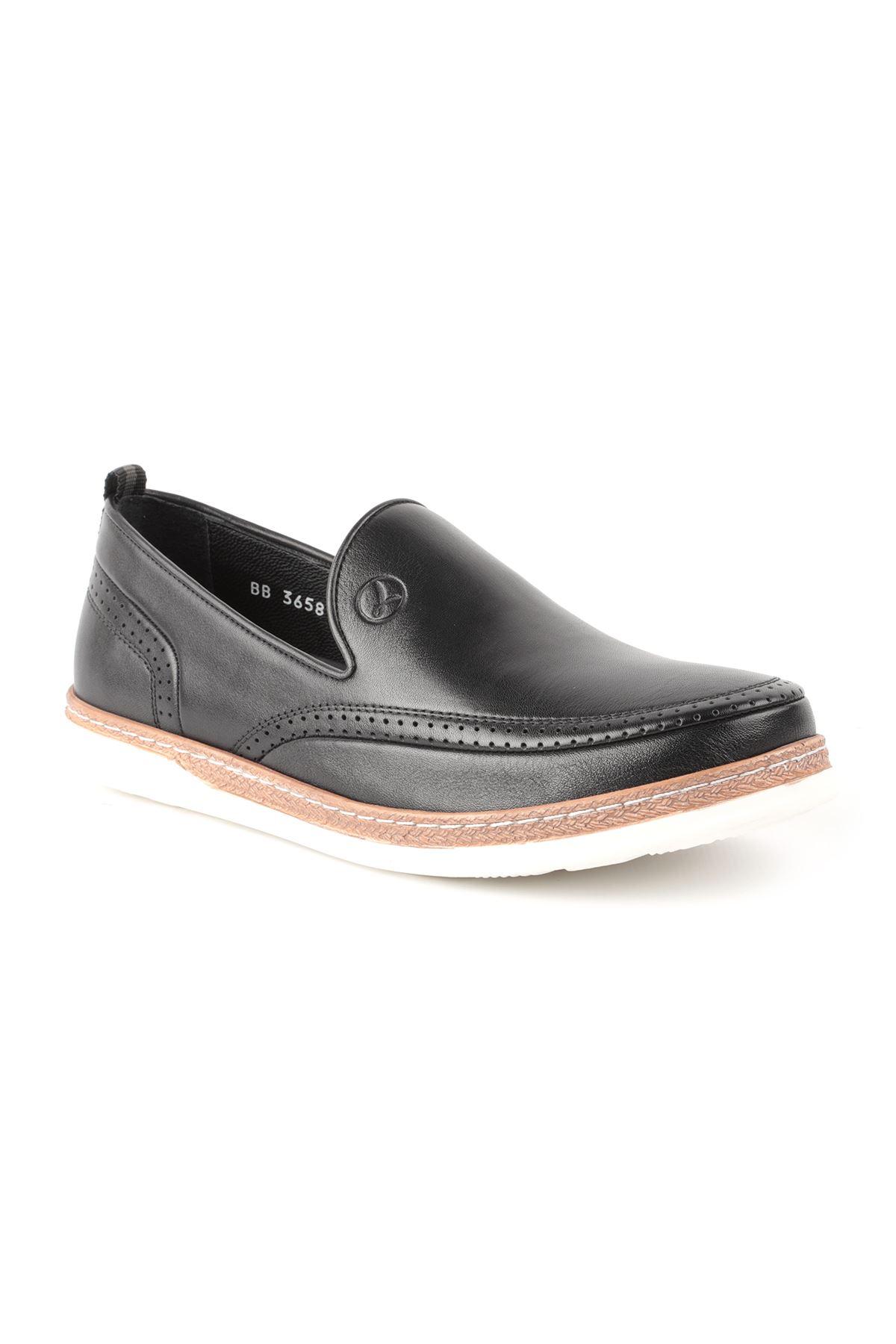 Libero L3658 Siyah  Loafer Erkek Ayakkabı