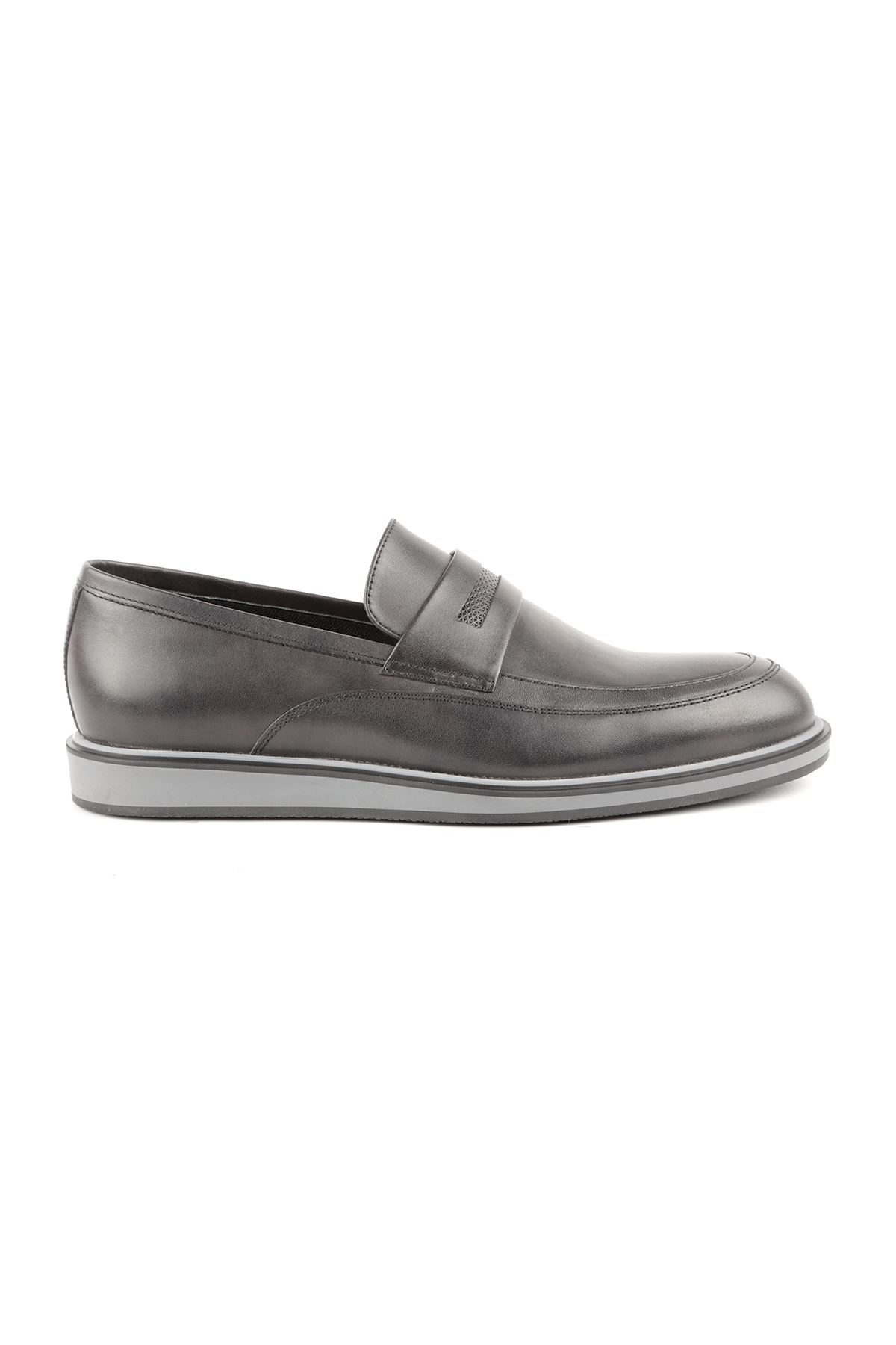 Libero L3668 Black Loafer Men's Shoes