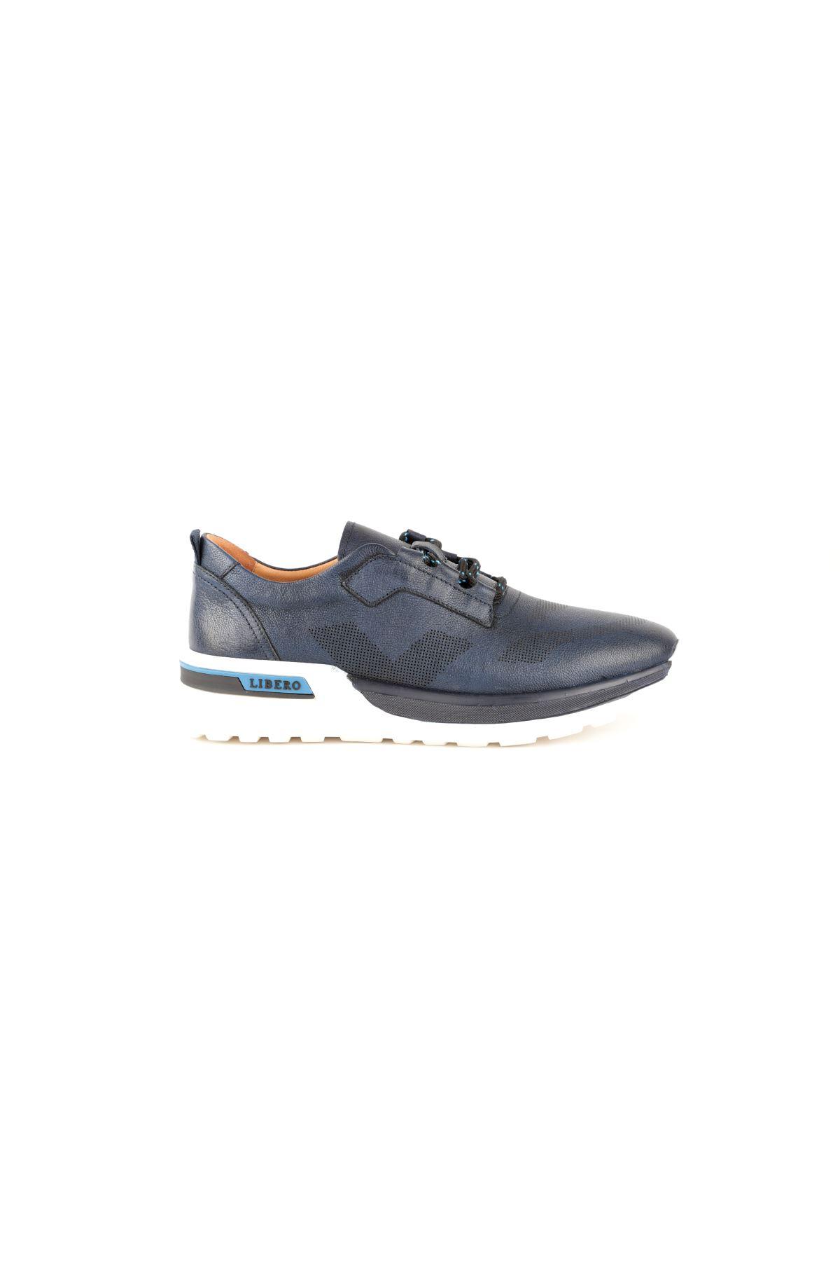 Libero L3757 Lacivert Casual Erkek Ayakkabı