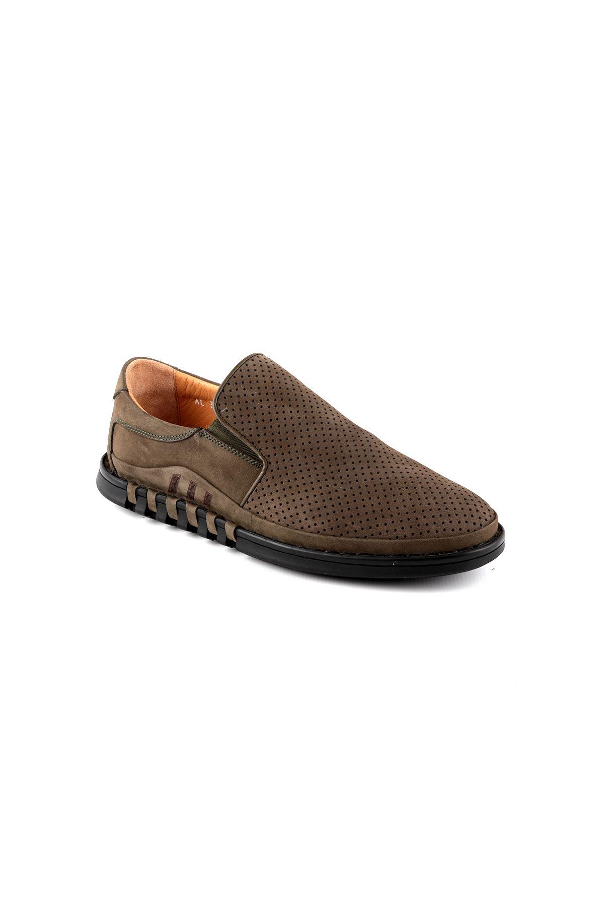 Libero L3760 Haki Loafer Erkek Ayakkabı